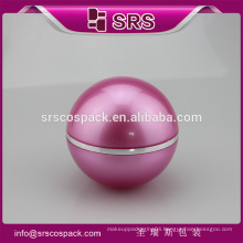 SRS free sample 100ml plastic acrylic luxury cosmetics cream empty jar