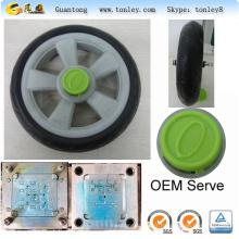 moules d'injection des pièces de rechange en plastique pivotant roues goodbaby walker