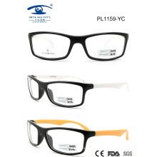 2015 Classic Italy Design Plastic Eyeglass for Man (PL1159)