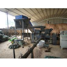 Machine de briquette de charbon de bois de sciure de grande capacité pour le carburant