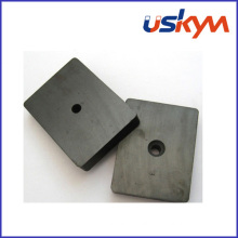 Y30bh Ceramic or Ferrite Block Magnets with Hole (F-011)