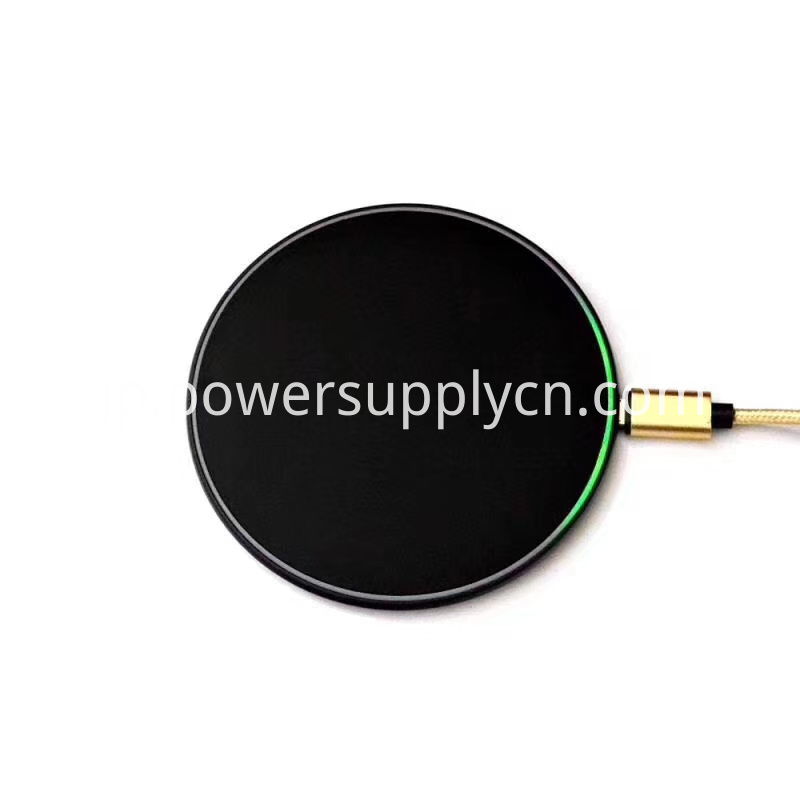 Ultrathin Wireless Charger Qi 10w Fast Wireless Charging Pad For Mobile Phone
