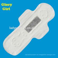 Servilleta higiénica de absorción más rápida con hoja superior de tacto algodonoso super suave
