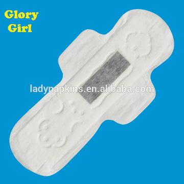 cottony sanitary pads