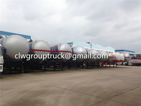 LPG Transport Semi-Trailer For Sale
