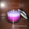 3 Wick Candles Samma färg Shade Candles