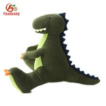 Peluche de felpa verde relleno de juguetes del dragón