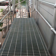 Hot Dipped Galvaniserad Steel Bar Platform Grating