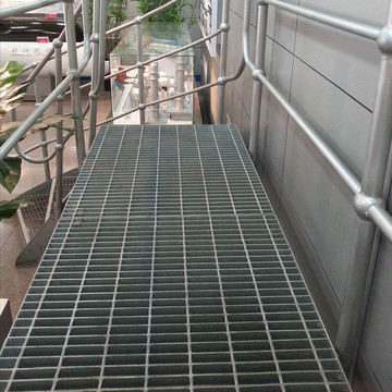 Hot mencelupkan Galvanized Steel Bar Platform Grating