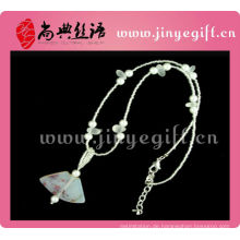 Shangdain Handcrafted Kultur Achat Handgemalte Kette Schmuck