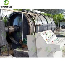 Waste Tyre Oil Pyrolysis Disposal Extraction Machine India