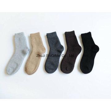 Custom High Quality Terry Cushion Winter Thermal Socks