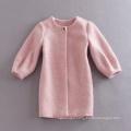 Wholesale Winter Coat High Quality Women Pink Coat