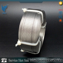 202 Gas shielded Stainless Steel bright finish welding wire price per meters