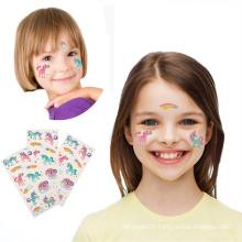 Waterproof Non-Toxic Custom Kids Hand Temporary Body Tattoo Stickers