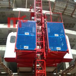 High speed VFD building hoist