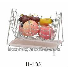 Cesta de plástico quadrada cesta de frutas