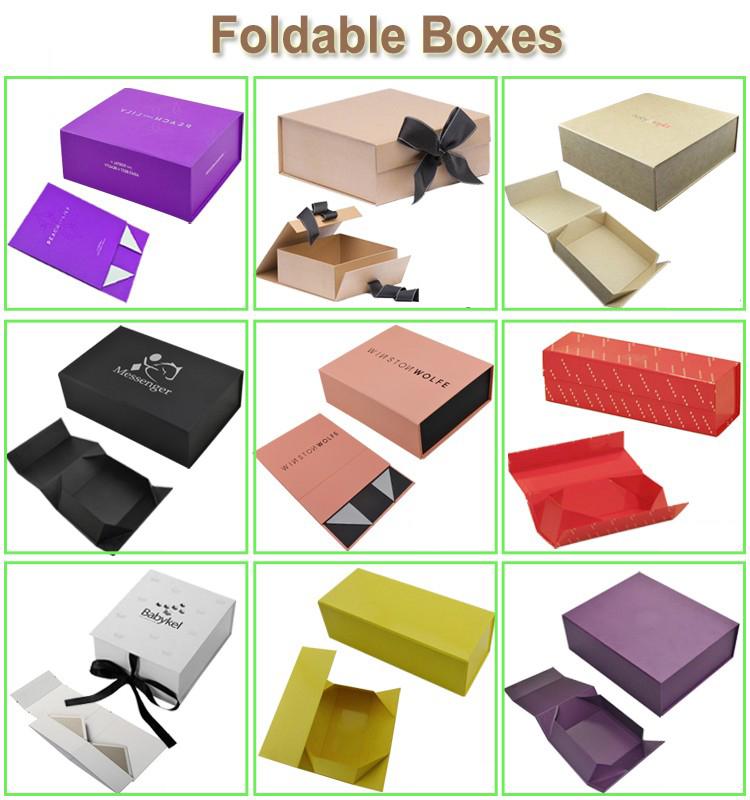 Foldable Box Style
