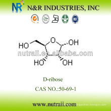 Fournisseur fiable D-ribose Powder 50-69-1