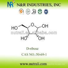 Fornecedor confiável D-ribose Pó 50-69-1