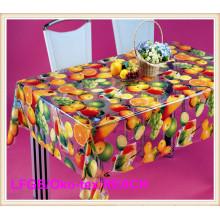 PVC Transparent Table Cloths for Party/Banquet Decoration