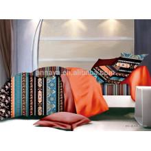 Conjunto de dormitorio étnicos conjunto de ropa de cama conjunto de 4 microfibra microfibra