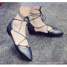 2015 fashion moccasin lady shoes