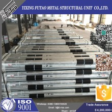 Purchasing for Steel Tapered Power Pole Hot dip galvanized transmission line pole supply to Eritrea Factory