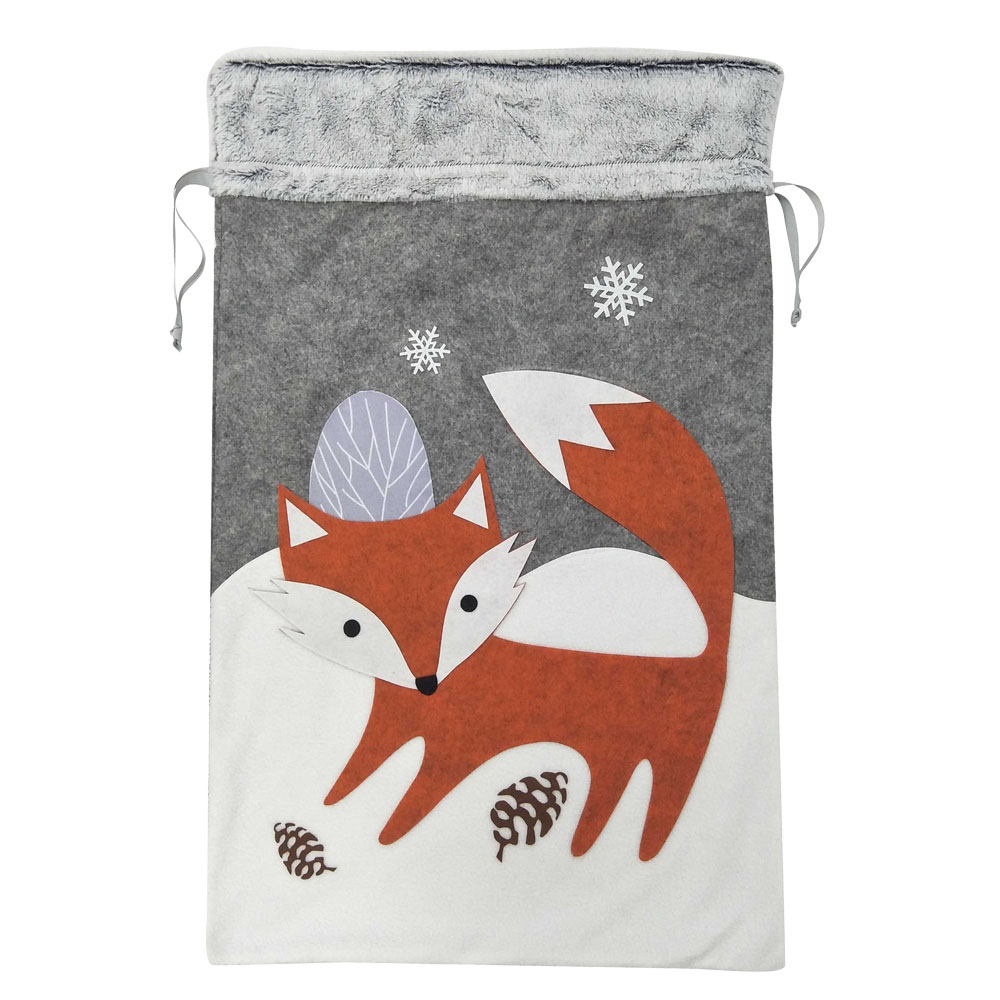 fox christmas sack