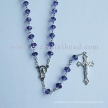 Religiöse islamische Halskette mit ovalen Perlen