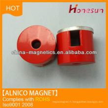 Aimant de cylindre alnico de cast D20x8 pour alternateurs aimant permanent