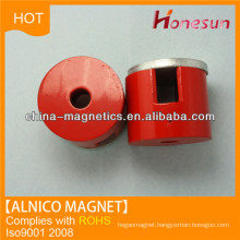 Cast alnico cylinder magnet D20x8 for permanent magnet alternators