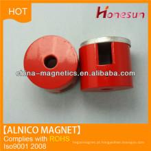 Íman de cilindro de alnico elenco D20x8 para alternadores de imã permanente