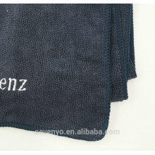 Toallas bordadas de alta calidad del deporte de la tela de Mpcrofiber