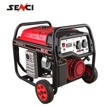 Gerador de gasolina de início de retrocesso de venda quente com manual do gerador