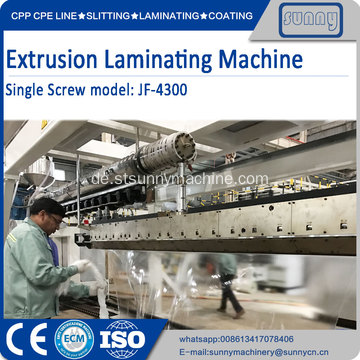 Multilayer Co-Extrusion Laminierung Produktionslinie