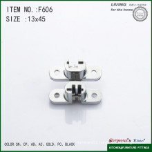 Cross concealed hinge hydraulic buffering hinge F606