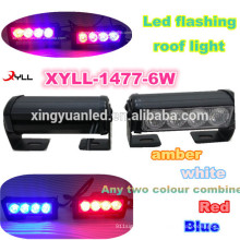 8W led warning lights traffic advisor light bar for 4x4 offroad , truck ,jeep, flashing led lightbar