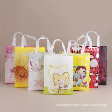 Reusable Best Seller Reusable Custom Wholesale Ultrasonic Non Woven Tote Bag For Shopping, Promotion