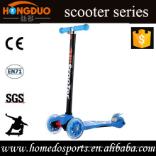 three-wheel kick scooter with two front wheels /2016 New Type Kids Kick Scooter