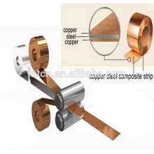 copper steel copper trimetal strips made in China