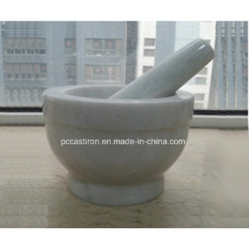 Marble Stone Mortars and Pestles Size 13X10cm