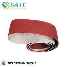Grit 40 # cintas de lixa abrasivas para máquina de polimento de metal