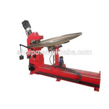high quality dished head flanging machine/CNC tank end forming Machine/Metal CNC dished head shaping Machine