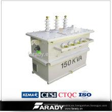 11 / 0.4kv transformador de potencia 112.5kva precio de los importadores de transformadores de alto voltaje