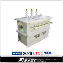11 / 0.4kv transformador de potência 112.5kva preço dos importadores de transformadores de alta tensão