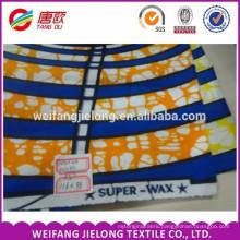 blue printing wax fabric / ankara fabric african wax