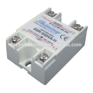 SSR-S40VA-H Panel Mount 24V Single Phase Solid State 40A Relay