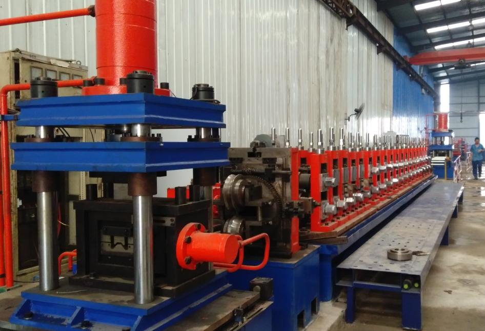 """""""Σ""""Logistic Shelf rool forming machine"""