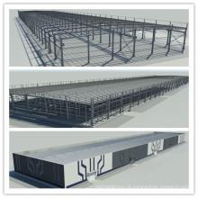 Construção de estrutura de aço pré-fabricada de baixo custo